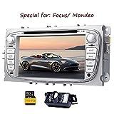 Eincar Rückfahrkamera inklusive !!! Für Ford Focus Mondeo (Unterstützung Jahre vor 2012) 7inch Indash AUTO-DVD-Spieler GPS-Navigation Navi iPod Stereo Bluetooth-HD-Touchscreen Radio RDS FM