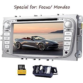 C¨¢mara Trasera Eincar Incluye!!! para Ford Focus Mondeo (a?o de Soporte Antes de 2012) de 7 Pulgadas Indash Coches Reproductor de DVD GPS Navi iPod ...