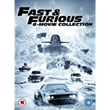 Fast & Furious 8-Film Collection DVD (1-8 Box Set) + digital download