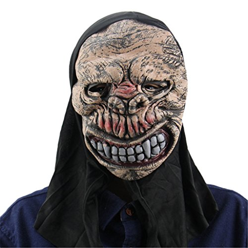 Jiayiqi Todos Los Santos Del Traje Del Cráneo Del Demonio Máscara De Arriba Deluxe