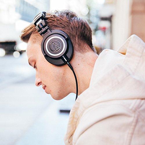 Audio Technica ATH-M50x DJ-Kopfhörer für Studio - 14