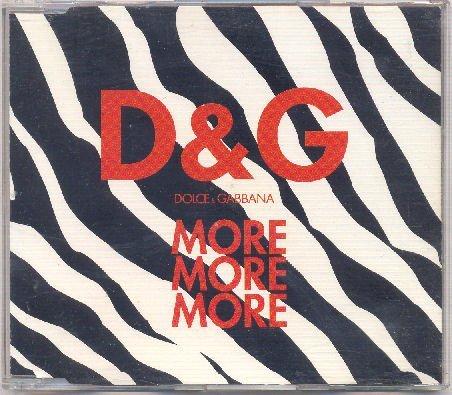 Dolce & Gabbana: More More More (Rare 4 Track Version) by Alex Baraldi (1997-08-02)