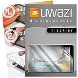 uwazi 3X Schutzfolie passend für Medion Lifetab P10612 Displayschutzfolie Glas-klar Folie