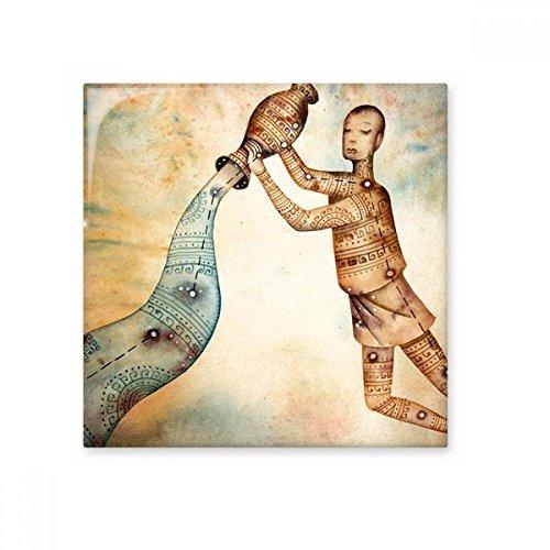 Januar Februar Wassermann Constellation Sternzeichen Keramik Bisque Fliesen Badezimmer Decor Küche Keramik Fliesen Wand Fliesen, sku00253318f17571-M