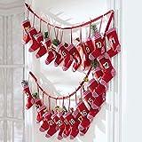 standART 42 Adventskalender Red Socks zum selber befüllen