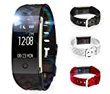 TKSTAR Smart Sport Watch,Smartwatch, Fitness Tracker, Smart Armband – wasserdicht IP67 Armband Wasserdicht Armbanduhr mit OLED Touchscreen Smart Armband für iPhone Android Samsung Huawei Sony Xiaomi