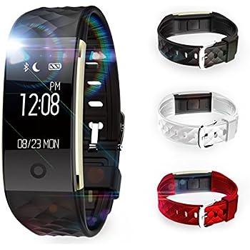 Montre Connectées sport,TKSTAR Smartwatch Fitness Tracker Smart Bracelet connecté Montre Intelligent étanche avec Écran