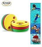 KingShark Dischi flottanti, 6 pezzi Nuoto per il nuoto Voli, Nuoto Pneumatico Nuoto anelli Nuotatori per i più piccoli