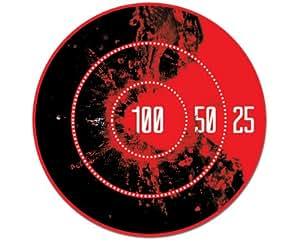 Luckies LUKSH Sticker Adhésif pour WC Thermosensible Hot Shots