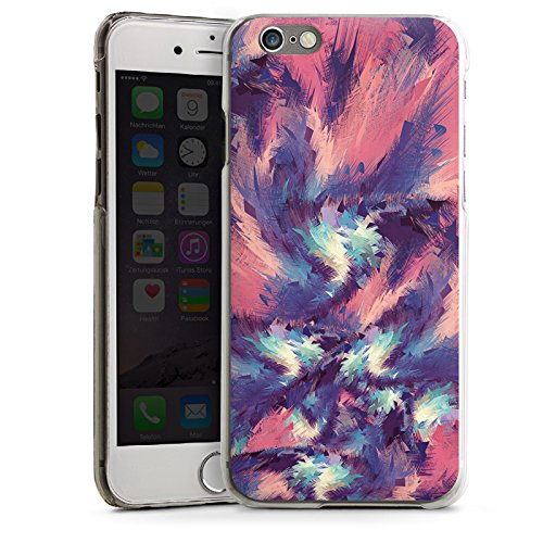 Apple iPhone 5 Housse Étui Protection Coque Couleurs Motif Motif CasDur transparent