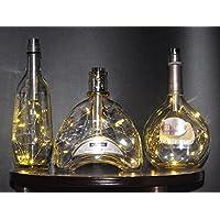 Luces de corcho con temporizador de 6 horas y corchos intercambiables para varias aberturas de botellas