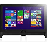 Lenovo C20 19.5-inch FHD+ All-in-One Desktop PC (AMD E1-6010 1.35 GHz, 4 GB RAM, 1 TB HDD, DVD-RW, WLAN, Camera, Integrated Graphics, Windows 8.1) - Black with Free Windows 10 Upgrade