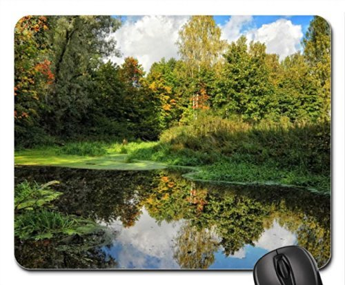 Hidden Corner of the Park Mouse Pad, Mousepad (Lakes Mouse Pad) -