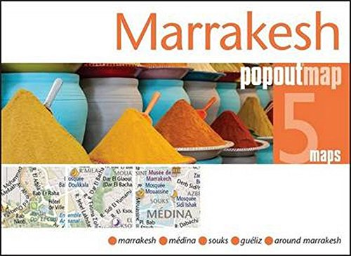 Marrakesh PopOut Map (Popout Maps)
