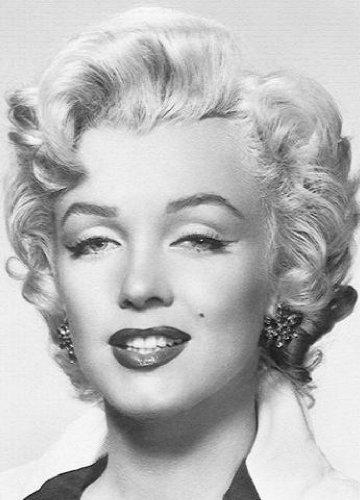 1art1 40526 Marilyn Monroe - Portrait 4-teilig, Fototapete Poster-Tapete (254 x 183 cm)