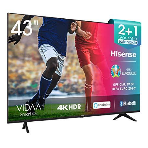 Imagen de Televisores Smart Tv Hisense por menos de 350 euros.