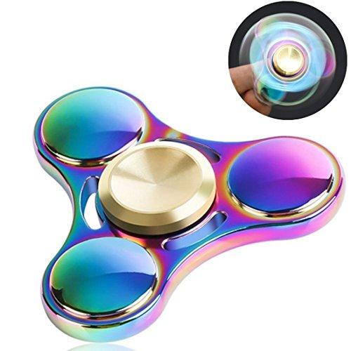 fnkscraft-fidget-spinner-rainbow-colorful-acero-inoxidable-edc-fidget-toy-reductor-de-la-tension-tim