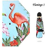 LUOJIN Paraguas Paraguas De Paraguas De Marca Pequeña Paraguas Umbrella Mini Paraguas Protección UV Paraguas Portátil