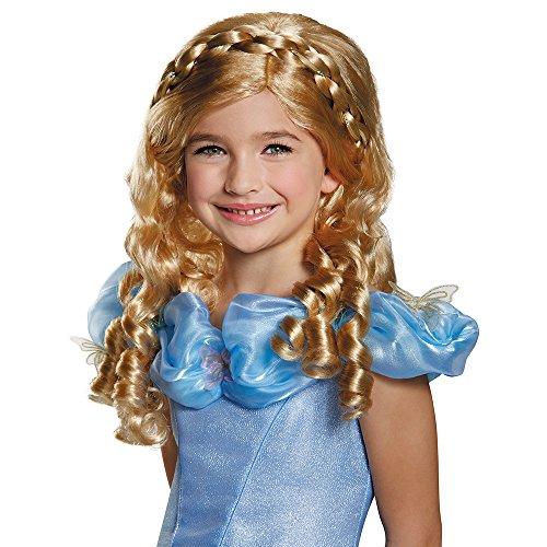 Disney Cinderella Movie Child Costume (Cinderella Disney Film Kinder Perücke)