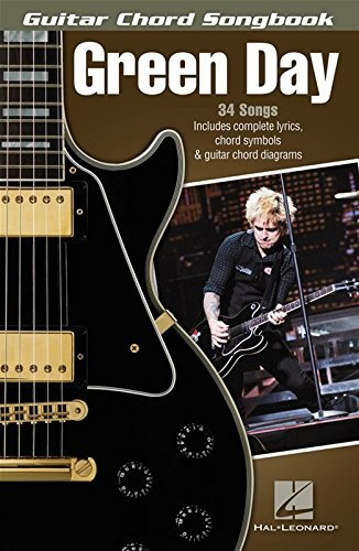 Green Day Guitar Chord Songbook by Green Day (2014-07-22)