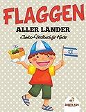 Flaggen aller Länder: Jumbo-Malbuch für Kinder