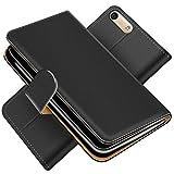Conie Handytasche für Huawei G6 Cover Schutzhülle im Bookstyle aufklappbare Hülle aus PU Leder Farbe: Schwarz