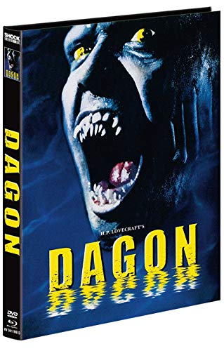H.P. Lovecraft\'s Dagon - 2-Disc Mediabook - Cover D - Limitiert auf 222 Stück  (+ DVD) [Blu-ray]