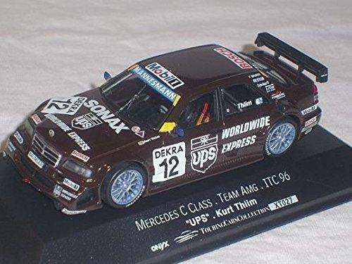 mercedes-benz-c-klasse-nr-12-w202-itc-team-amg-schwarz-1996-thiim-1-43-vitesse-modellauto-modell-aut