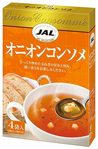 JAL オニオンコンソメ 4袋入×5個
