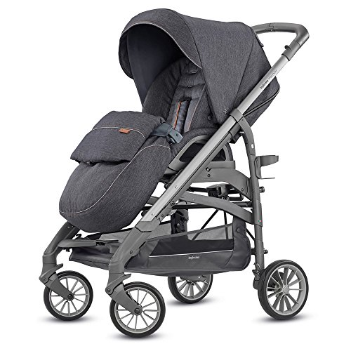 Inglesina trilogy passeggino trilogy, 0 a 22 kg, village denim