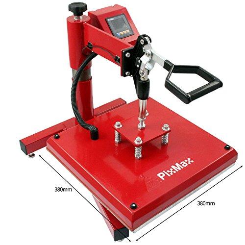PixMax 38cm x 38cm Swing-Hitzepressmaschine - 3