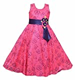 #2: Twinkle Star Baby Girls Fairy Frock Dresses for Birthday Party & Festivals Wear