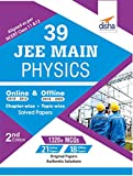 39 JEE Main Physics Online (2018-2012) & Offline (2018-2002) Chapter-wise + Topic-wise Solved Papers