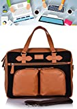 Best Amazon Macbooks - leather laptop bag for men women Office Satchel Review