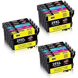 JIMIGO 29 XL 29XL Cartouches Remplacement Pour Epson 29 Encre Compatible Avec Epson Expression Home XP-345 XP-245 XP-445 XP-255 XP-355 XP-235 XP-247 XP-455 XP-335 XP-442 XP-352 XP-342 XP-452