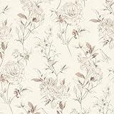 BHF 450-67372 Jolie Tapete Blumenmuster wirf - Beige
