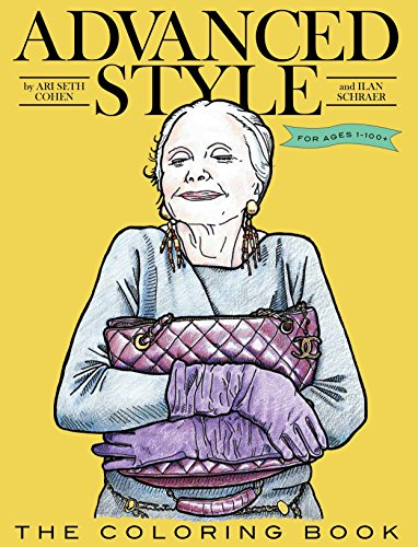 Advanced Style Coloring Book por Ari Seth Cohen