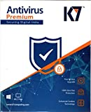 #8: K7 Antivirus Premium- 1 User, 1 Year (Pack of 2) (CD)