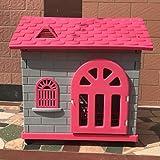 Pet Nido casa per Animali Domestici High-End per Animali Domestici Piccolo Cane in plastica casa per Cani Gabbia per Cani casa per Cani in plastica con gabinetto - Rosa -78 * 62 * 78cm