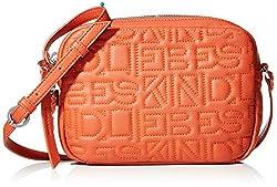 Liebeskind Berlin Damen Urcrosss Urban Umhängetasche, Orange (Rusty Rea), 5x23x17 cm