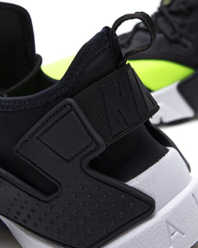 Nike Scarpe Uomo Sportswear Air Huarache Drift in Tessuto Bicolore AH7334-700 volt/black-white