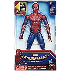 Marvel - Figura de Spiderman Electronica (Hasbro B9693105)