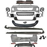 Set Stoßstange vorne + hinten + Schweller für Golf VI 6 5K1 GTI Optik Bj. 08-13