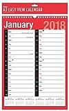 2019 A3 Extrabreiter 2 Spalten-Monat, zum des Spirale-gebundenen Wand-Planer-Kalenders anzusehen