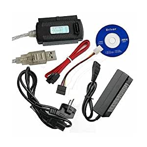 "USB 2.0 zu 2,5"" 3,5"" IDE SATA Adapter Kabel"