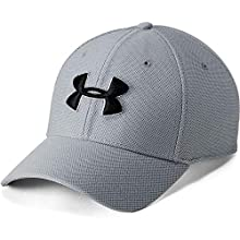 Under Armour Playoff 2.0, Polo T Shirt with Short Sleeves, Short Sleeve Polo Shirt with Sun Protection Men, blue (Electric Blue/Black/Black((407)), XL