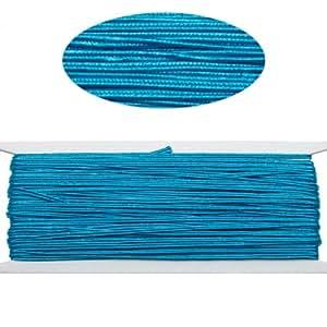Repi couleur: bleu panneaux avant Cordon pour les bijoux making-65feet-2.5mm Largeur