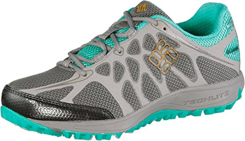 Columbia Conspiracy Titanium Outdry, Baskets Basses Femme Multicolore - Multicolor (Light Grey/Squash)