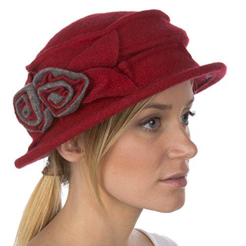 Sakkas Sakkas 994WSS Madison Rose Wollmütze - Rot - Einheitsgröße