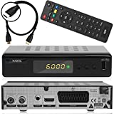 Xaiox Anadol ADX 111c digitaler Full HD Kabel-Receiver [Umstieg Analog auf Digital] inkl HDMI Kabel (HDTV, DVB-C / C2, HDMI, Chinch-Video, Mediaplayer, USB, 1080p) automatische Installation schwarz